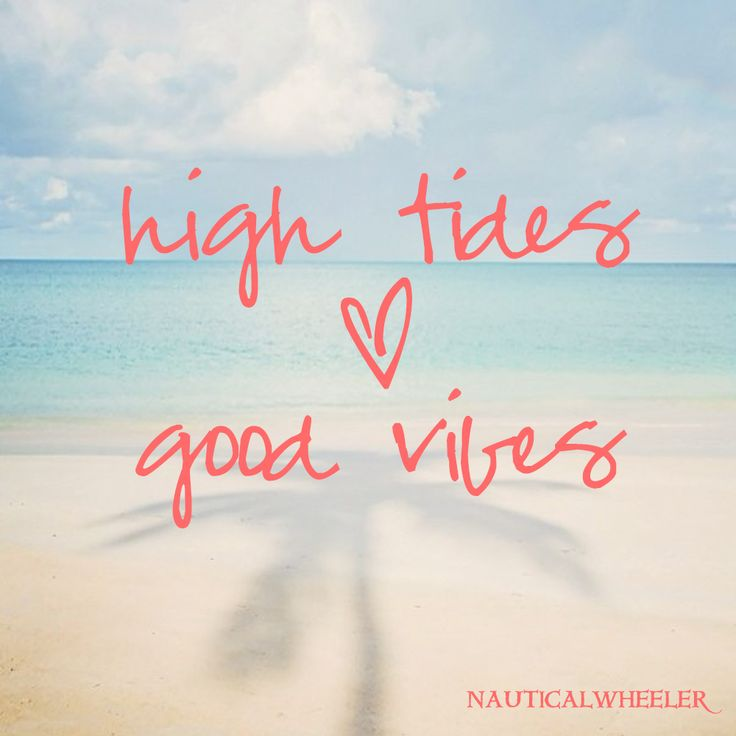 Summer Quotes High Tides Good Vibes Quotesstory Leading
