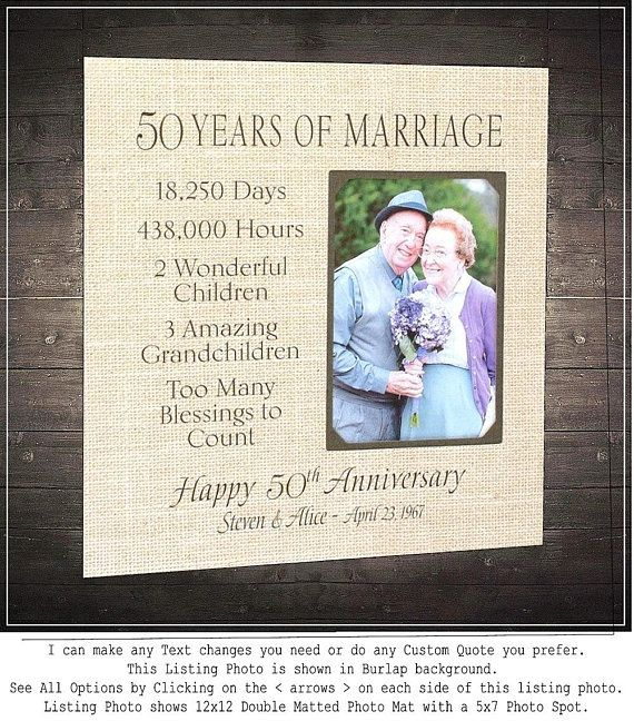 Wedding Quotes Parents: Wedding Quotes : 50th Anniversary Gift, Golden Anniversary