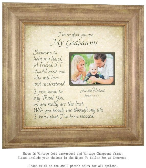 Wedding Quotes : Check out Godmother Godfather Gift, Godparents ...