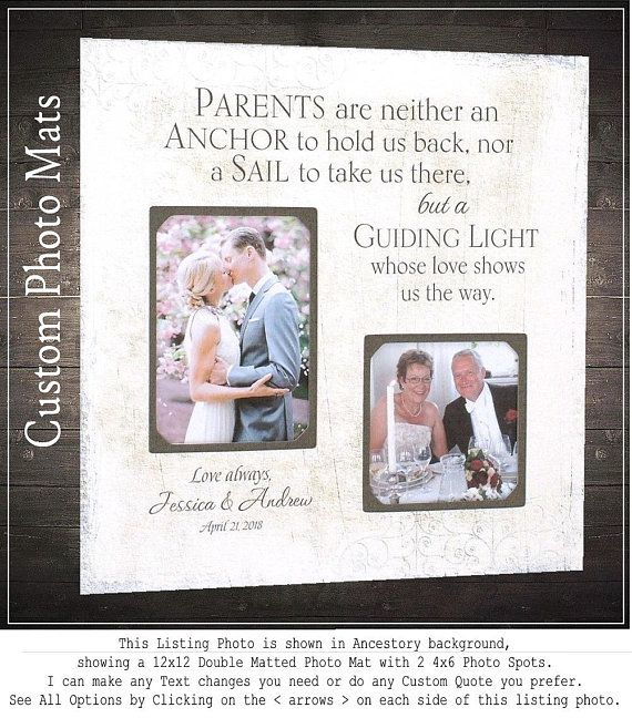 As The Quote Says Description Check Out Mom And Dad Wedding Gifts