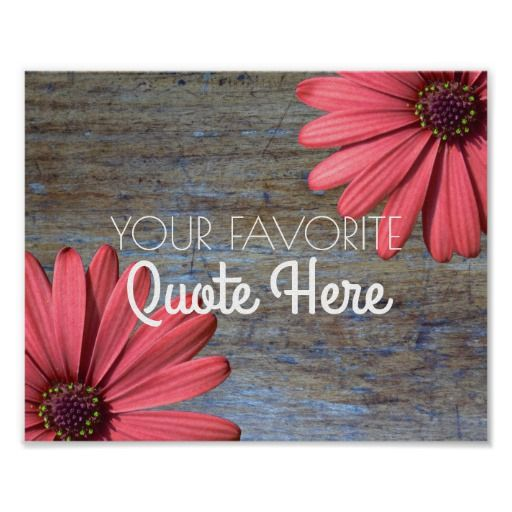 Wedding Quotes : Create Your Own Quote | Rustic Wood Daisies ...