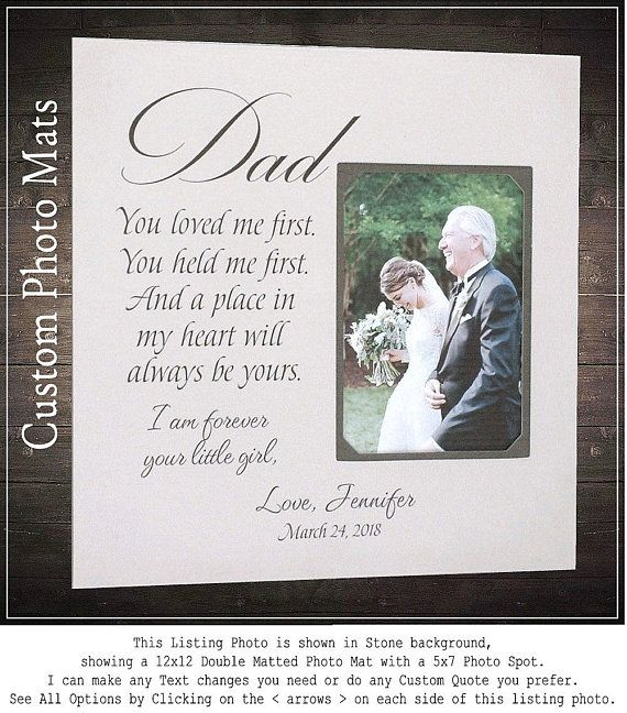 wedding quotes father of the bride gift father daughter gift