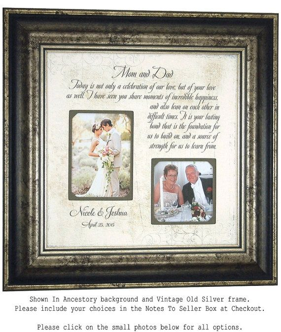 wedding quotes mother of the groom gift parents of the bride gift