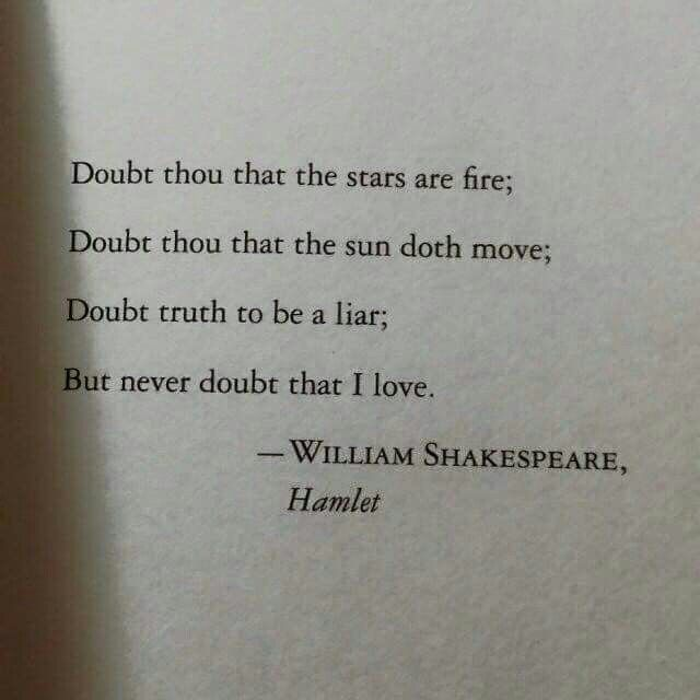 hamlet quotes about life