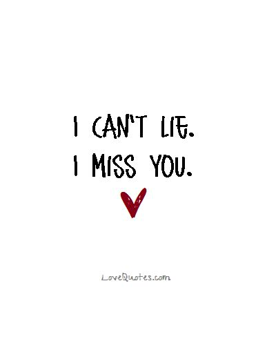 Long Distance Relationship I Can T Lie I Miss You Love Quotes