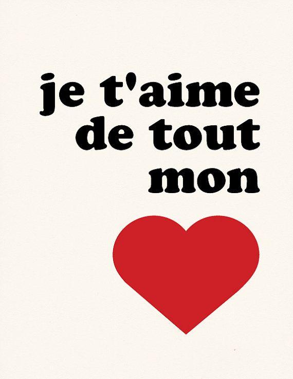 Long Distance Relationship Je Taime De Tout Mon Cœur