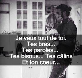 Nouvel Love : Message d'amour - phrase d'amour pour Facebook - SMS d CN-96